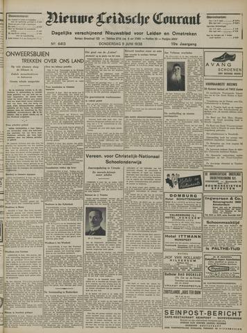 Nieuwe Leidsche Courant 1938-06-09