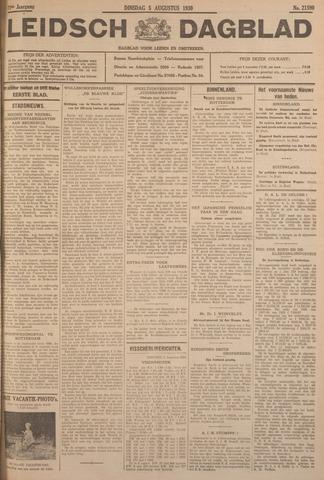 Leidsch Dagblad 1930-08-05