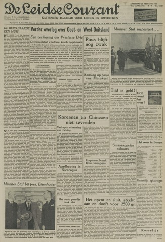 Leidse Courant 1954-02-20