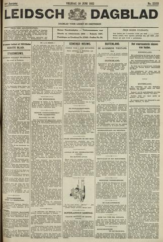 Leidsch Dagblad 1932-06-10