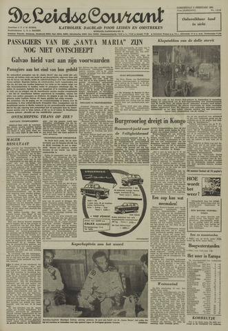 Leidse Courant 1961-02-02