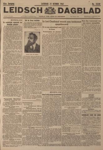 Leidsch Dagblad 1942-10-24