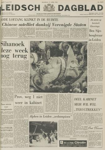 Leidsch Dagblad 1970-04-27