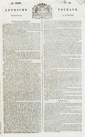 Leydse Courant 1838-01-24