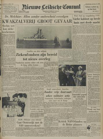 Nieuwe Leidsche Courant 1957-04-06