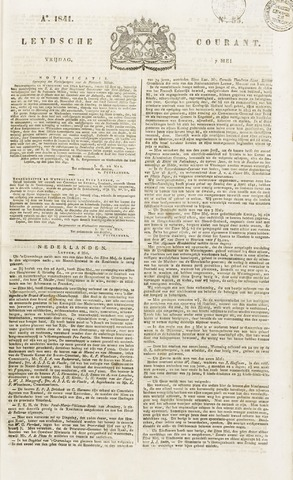Leydse Courant 1841-05-07
