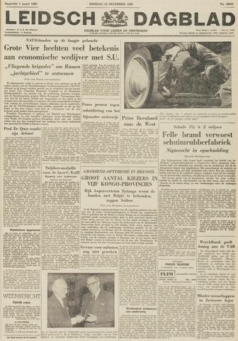 Leidsch Dagblad 1959-12-22