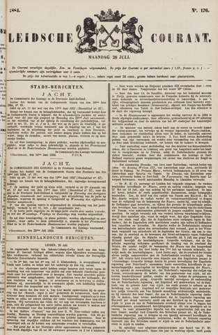 Leydse Courant 1884-07-28