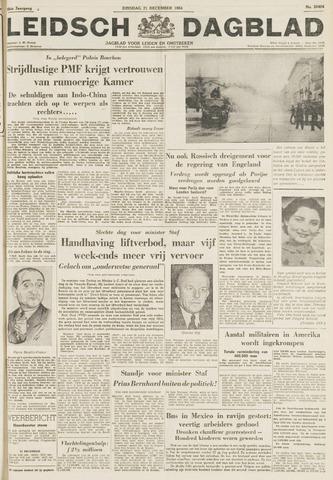 Leidsch Dagblad 1954-12-21