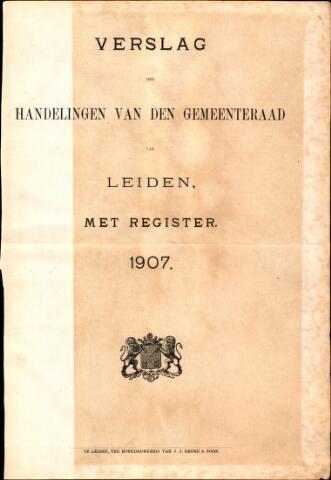 Handelingen van de Raad 1907-01-01