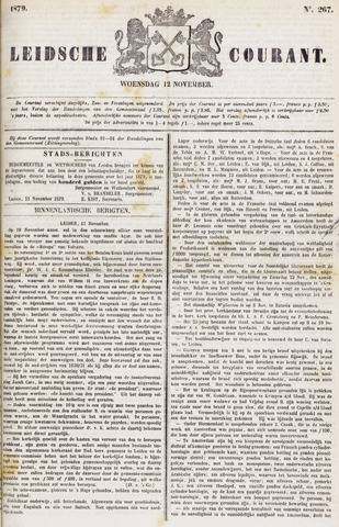 Leydse Courant 1879-11-12