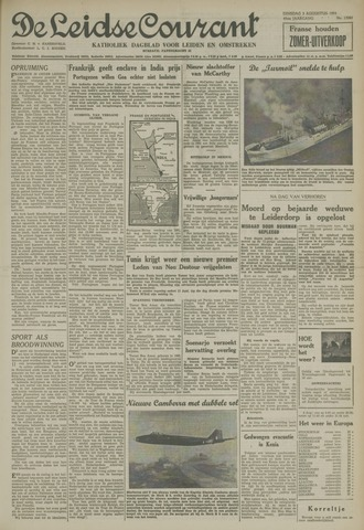 Leidse Courant 1954-08-03