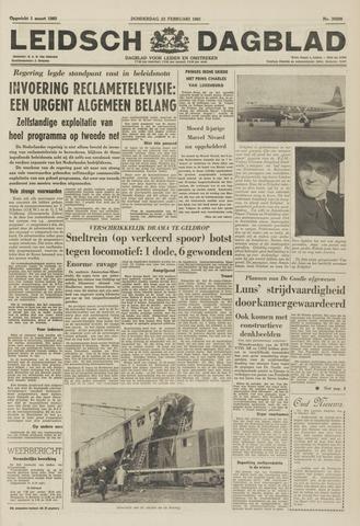 Leidsch Dagblad 1961-02-23