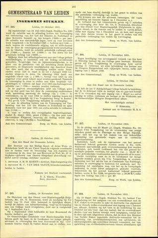 Handelingen van de Raad 1935-10-31