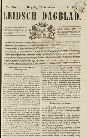 Leidsch Dagblad 1864-11-29