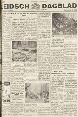 Leidsch Dagblad 1951-11-14