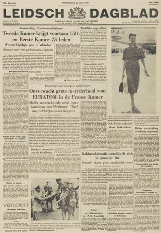 Leidsch Dagblad 1956-07-12