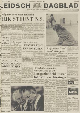 Leidsch Dagblad 1967-08-16