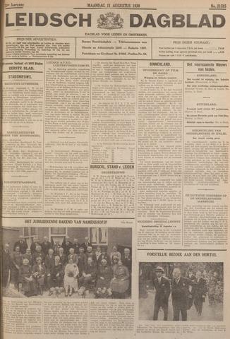 Leidsch Dagblad 1930-08-11