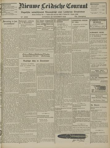 Nieuwe Leidsche Courant 1938-11-26