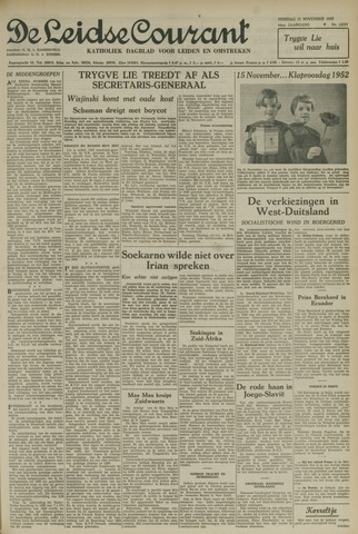 Leidse Courant 1952-11-11