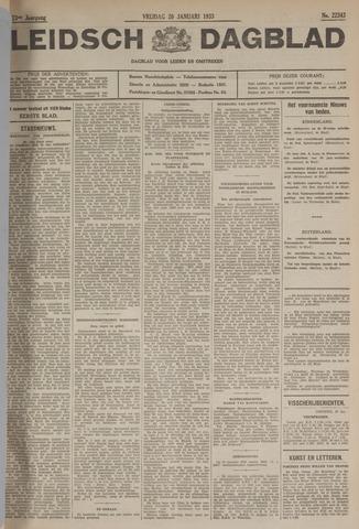 Leidsch Dagblad 1933-01-20