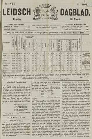 Leidsch Dagblad 1869-03-30