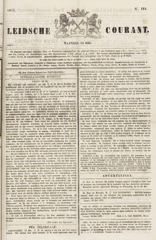 Leydse Courant 1873-05-12