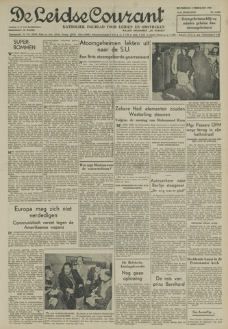 Leidse Courant 1950-02-04