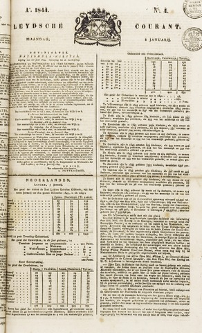 Leydse Courant 1844-01-08