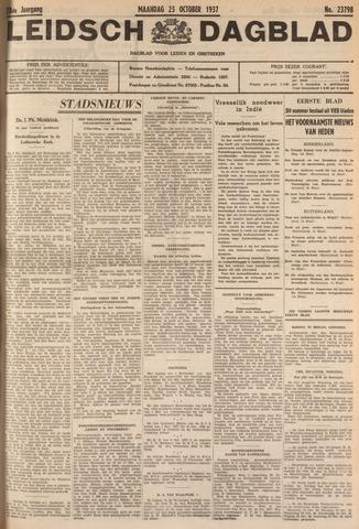 Leidsch Dagblad 1937-10-25