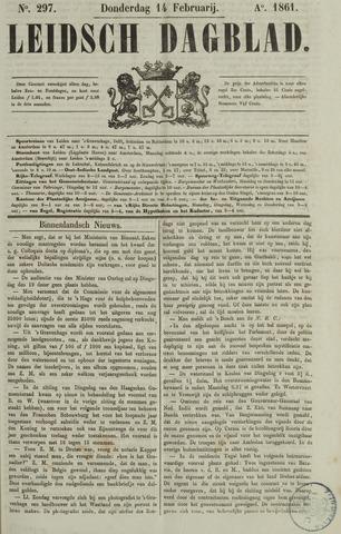 Leidsch Dagblad 1861-02-14