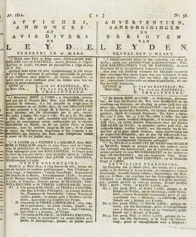 Leydse Courant 1812-03-27