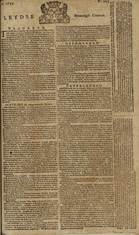Leydse Courant 1753-08-27