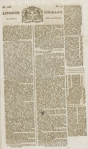 Leydse Courant 1826-02-06