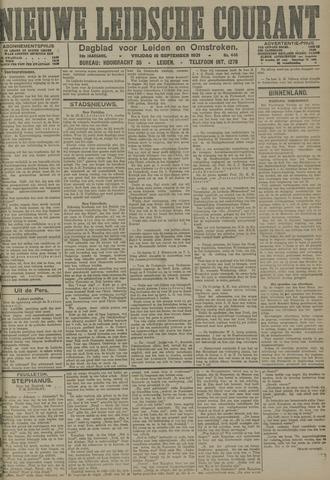 Nieuwe Leidsche Courant 1921-09-16