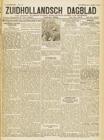 Zuidhollandsch Dagblad 1944-04-06