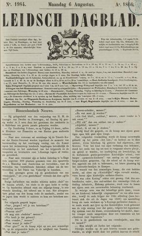 Leidsch Dagblad 1866-08-06