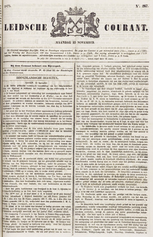 Leydse Courant 1875-11-15