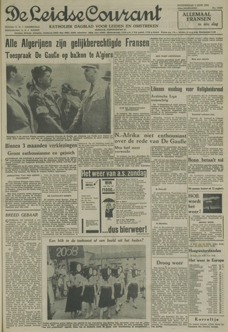 Leidse Courant 1958-06-05