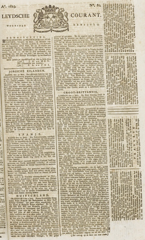 Leydse Courant 1825-07-06