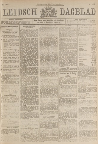 Leidsch Dagblad 1915-11-29