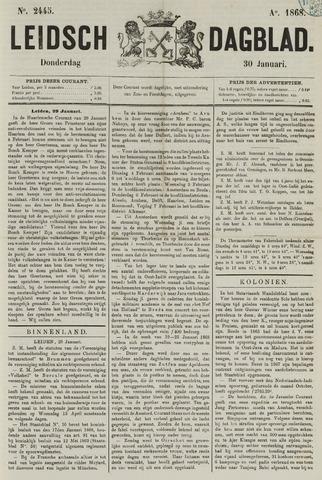 Leidsch Dagblad 1868-01-30