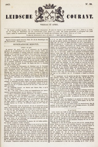 Leydse Courant 1877-04-27
