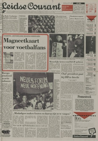 Leidse Courant 1989-10-31