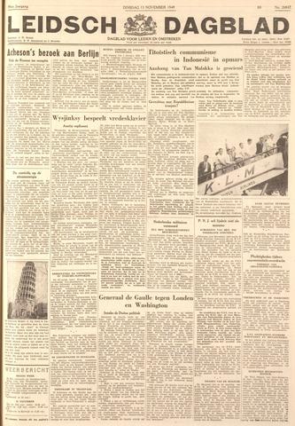 Leidsch Dagblad 1949-11-15