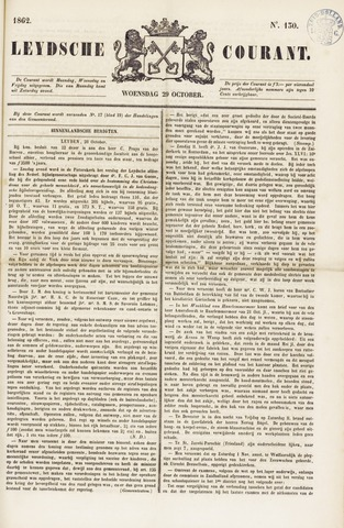 Leydse Courant 1862-10-29