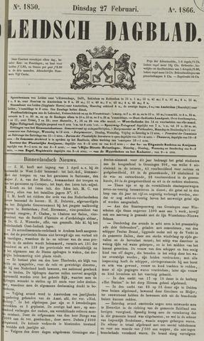 Leidsch Dagblad 1866-02-27