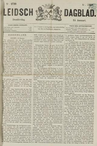 Leidsch Dagblad 1869-01-14