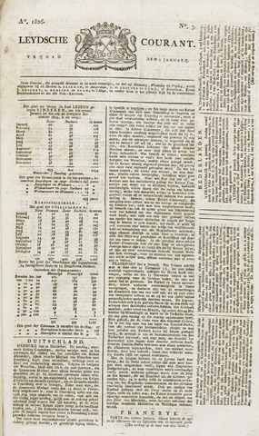 Leydse Courant 1826-01-06